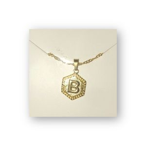 Jewelry - Initial B Letter Chain Necklace